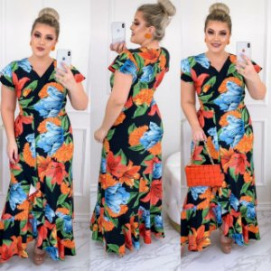 Vestido Mule Floral