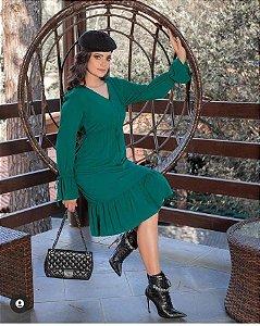 Vestido Princesa verde