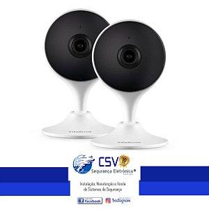 Câmera Interna Inteligente Intelbras IM3 Duo WiFi FullHD 131º