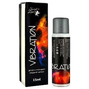 Vibration Gel Eletrizante Para Massagem Sensual 15Ml Secret Love