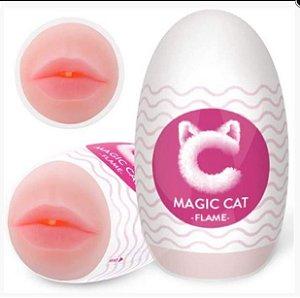 Magic Cat Flame em Cyberskin Formato Boca