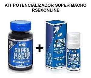 Kit Potencializador Super Macho Poder Azul