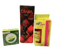 Kit Erótico (Dessensibilizante + Excitante Feminino + Gel Comestível)