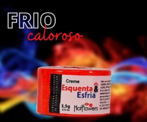 Creme Funcional Esquenta E Esfria 3,5g Hot Flowers