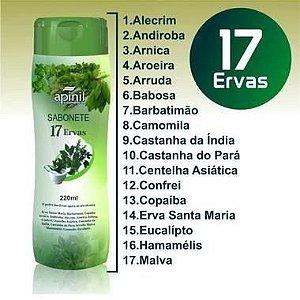 Sabonete Intimo 210ml Apinil - 17 Ervas