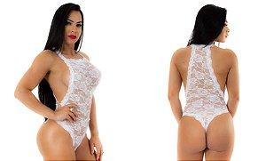 Body Sensual Paixão Pimenta Sexy Branco