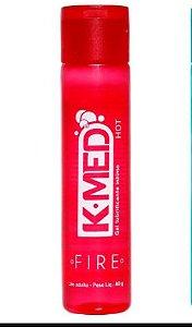 Gel Lubrificante Íntimo Hot K-Med 40gr- BRINDE 1 CAMISINHA