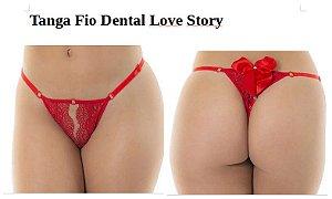 Tanga Fio Dental Love Story