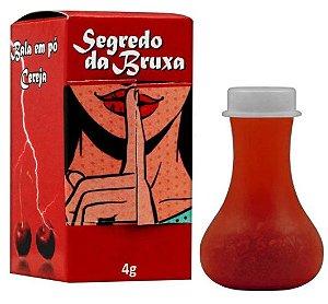Bala Em Pó Segredo Da Bruxa 4g Loka Sensação-Cereja
