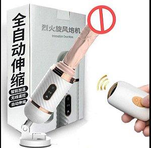 Máquina Do Sexo Com Vibração e Aquecimento Cyclone Fire - Dibe - Importado