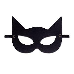 Máscara Mulher Gato Cor Preta