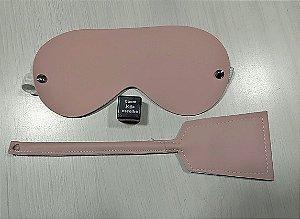 Kit Secret Sexy ( Venda Olhos + Chibata+ Dado Streap )