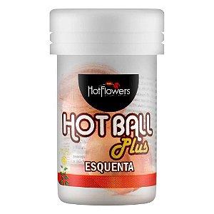 Bolinha Hot Ball Plus Esquenta C/2 Un Hot Flowers