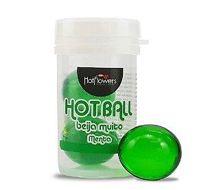Hot Ball Beija Muito Menta C/2 Un Hot Flowers