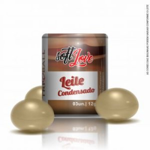 Bolinha Funcional Leite CondensadoTriball Soft Love C/3 Un