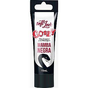 Gel Funcional Gozzy Mamba Negra Bisnaga 15ml Soft Love