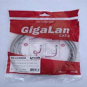 PATCH CORD U/UTP GIGALAN CAT.6 - CM - T568A/B - 2.5M - CZ - 35123904 - FURUKAWA