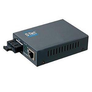 MEDIA CONVERTER 10/100/1000 P/ 1000 LX SM DN-10000S20 - D-NET