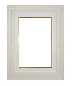 Moldura para Telas de Pintura 0330 Branca