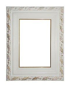 Moldura para Telas de Pintura 0283 Branca