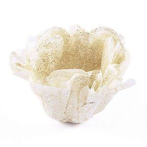 Forminhas para doces Buganville Belize - dourada