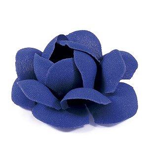 Forminhas para doces Camélia Chanel - azul jeans