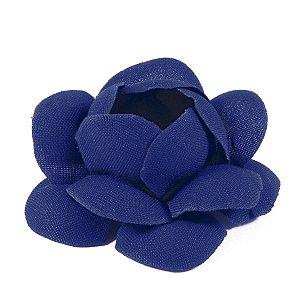 Forminhas para doces Camélia Chanel - azul escuro