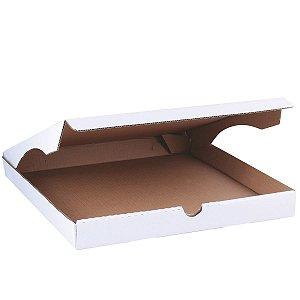 Caixa de pizza 36x36x4cm - branca