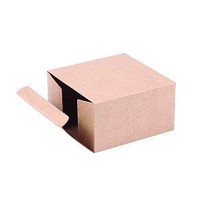 Caixa de presente 11x11x6,1cm - kraft