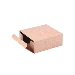 Caixa de presente 12x11x4,5cm - kraft