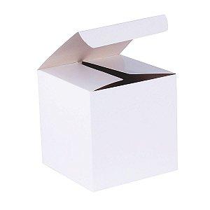 Caixa de presente 13x13x13cm - branca