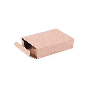Caixa de presente 14x10x3,5cm - kraft