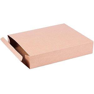 Caixa de presente 27x21,5x5cm - kraft