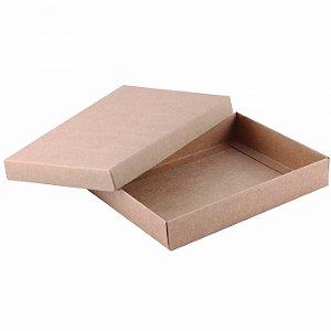Caixa tampa e base 18x14x3