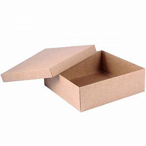 Caixa tampa e base 24x24x8