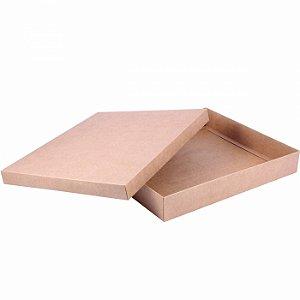 Caixa tampa e base 34x30x5