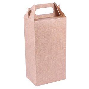 Embalagem de presente 26,5x14x10cm - kraft