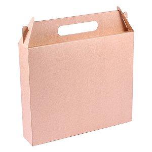 Embalagem de presente 26x22x5,5cm - kraft