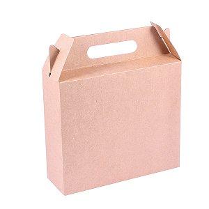Embalagem de presente 28,5x15,5x9cm - kraft