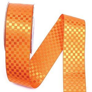 Fita 38mm c/10mts - laranja  nº1417