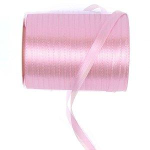 Fita de cetim Gitex nº1 - 6mm c/100mts - 103 rosa bebê