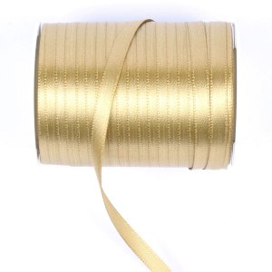 Fita de cetim Gitex nº1 - 6mm c/100mts - 138 dourada