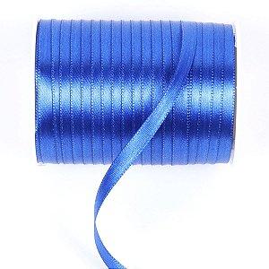 Fita de cetim Gitex nº1 - 6mm c/100mts - 158 azul