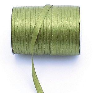 Fita de cetim Gitex nº1 - 7mm c/100mts - 127 verde musgo