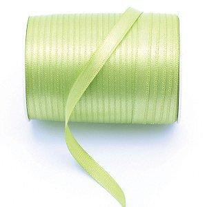 Fita de cetim Gitex nº1 - 7mm c/100mts - 137 verde claro