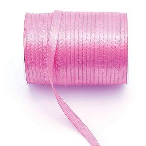 Fita de cetim Gitex nº1 - 7mm c/100mts - 182 rosa
