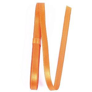 Fita de cetim Gitex nº1 - 7mm c/10mts - 153 laranja