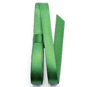Fita de cetim Gitex nº2 - 10mm c/10mts -  123 verde