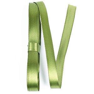 Fita de cetim Gitex nº2 - 10mm c/10mts -  127 verde musgo