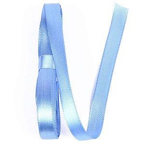 Fita de cetim Gitex nº2 - 10mm c/10mts -  199 azul